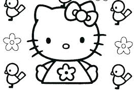 Hello Kitty Printable Coloring Page Zupa Miljevcicom
