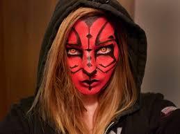 kratos makeup last week this week is darth maul female interpretation