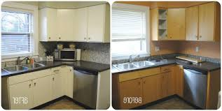 kitchen cabinets painted white before and afterPainting Kitchen Cabinets White Before And After