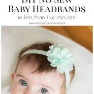 How To Make Diy Baby Flower Headbands No Sewing Required