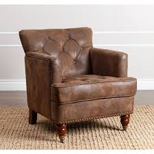 rustic leather armchair sofa uk chair and half for couch set excellent photo abbyson tafton