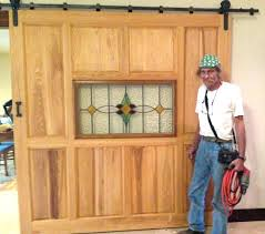 stained barn doors stained barn doors pine door with glass installed gray stained barn doors stained barn doors
