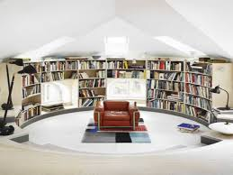 Modern Home Library Design ...