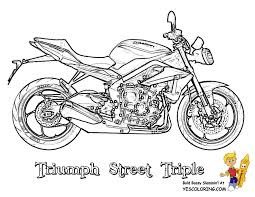 Small Picture Rugged Motorcycle Coloring Book Pages Triumph Free Coloring