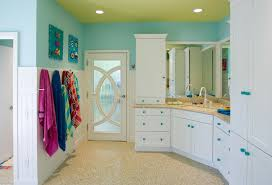 kids bathroom ceiling paint