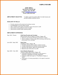 Social Work Resume Skills Resume Objective Sample Striking For Jobe Career Finance Freshers 47