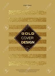 Birthday Flyers Gold Glitter Sparkles Design Pattern For Brochures Invitation