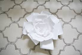 large flower wall art above bed 7