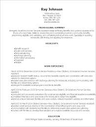 Example Of Social Work Resume. Incredible Social Work Resume Sample ...