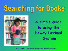 Searching For Books Dewey Decimal System