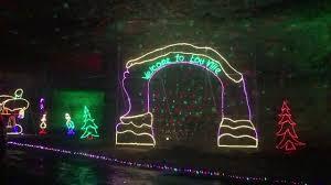 Louisville Mega Cavern Lights Louisville Ky Mega Cavern Lights Under Louisville Youtube