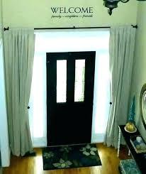 front door curtain panel front door window coverings front door curtain panel door side panel curtains