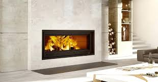 door for open fireplace guillotine ceramic glass door glides effortlessly and disappears for a stunning view