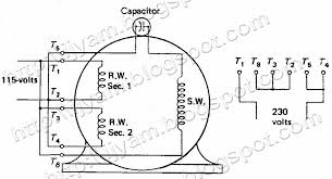 ac fan capacitor wiring diagram wiring diagrams and schematics Ajax Electric Motor Wiring Diagram electrical control circuit schematic diagram of permanent split, wiring diagram ajax electric motor m-5-184t wiring diagram