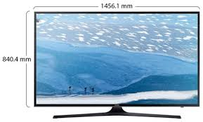 samsung tv 65. physical features samsung tv 65