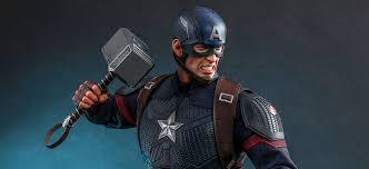 <b>Hot Toys</b> Captain America <b>Figure</b> from Avengers Endgame Is Worthy ...