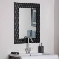 Modern bathroom mirrors Oversized Bathroom Modern Bathroom Mirror Ebay Bathroom Mirror Ebay