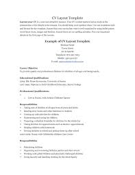 100 Nanny Resume Templates Best Nanny Resume Templates Free