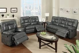 Modern Leather Living Room Set Best Leather Recliner Sofa Sets With Leather Reclining Sofa Set