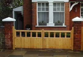 gloucester wooden driveway gates 4ft high