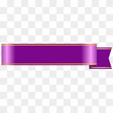 Purple Ribbon Banner Purple Ribbon Png Transparent For Free Download Pngfind