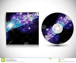 Cd Design Music Cd Cover Design Template Stock Vector Illustration Of