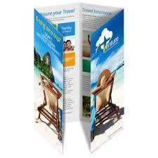 Fold Flyer Brochure Printing Singapore Tri Fold Brochure Printing A4