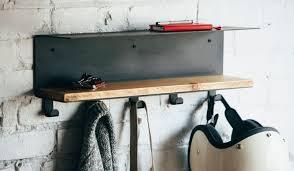 white wall coat rack with hooks storage shelf on top frg65 w uk of throughout restaurant coat racks