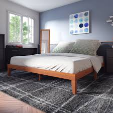 Superior Porch U0026 Den Leonidas Monticello 12 Inch Wood King Size Platform Bed   Free  Shipping Today   Overstock   20474409