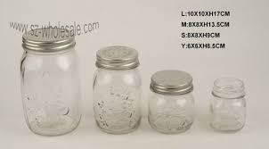 metal lid glass jar