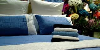 how to remove blood sns from bedding