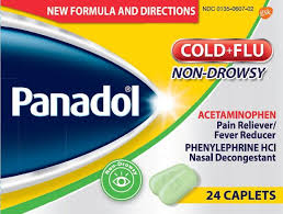 Panadol Cold And Flu Nondrowsy Tablet Film Coated