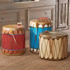 Native American Bedroom Decor American Log Drums