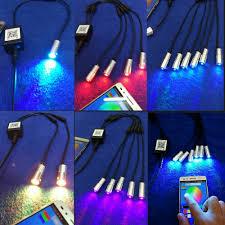 Fiber Optic Light Illuminator Details About 12v App Bluetooth Wifi Led Controller Side Glow Fiber Optic Light Source Engine