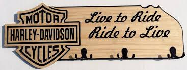 Harley Davidson Coat Rack Extraordinary Custom Engraved Hat Hoodie Rack Happy Signs More