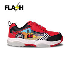 Cars Light Up Shoes Details About Disney Cars Light Up Flash Trainers Red Black Sneakers Trainer Shoes Footwear