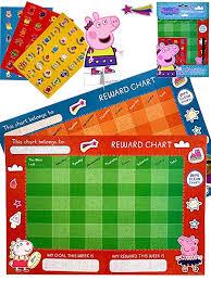 Peppa Pig Reward Chart With Stickers 2 Reward Charts 72