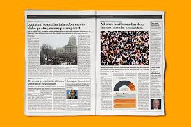 Newspaper Template Indesign Indesign Newspaper Template 5 Columns By Sacvand Graphicriver