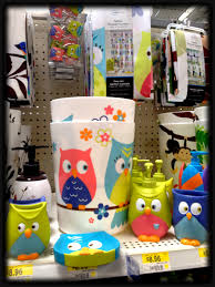 bathroom decor walmart. walmart owl set for the bathroom! bathroom decor