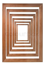 multiple picture frames wood. Multiple Wooden Photo Frames Isolated On White And Forming A Tunnel (with Empty Space In The Center For Your Text, Or Picture), Stock Picture Wood