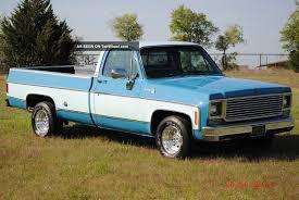 1978 Chevy Silverado Long Wide Bed V8 Pickup Rust Texas Truck