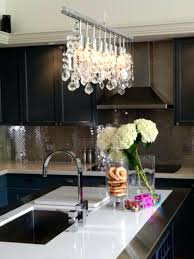 kitchen crystal chandelier crystal chandelier in kitchen copper bronze modern kitchen chandelier mirrored effect style design