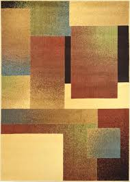geometric area rugs contemporary