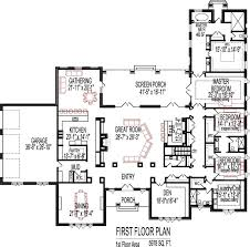 house plans with open floor plan. 5 Bedroom House Plans Open Floor Plan Designs 6000 Sq Ft Indianapolis Wayne Evansville IN With