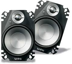 infinity car speakers. infinity 6422cfp car audio 4x6\ speakers