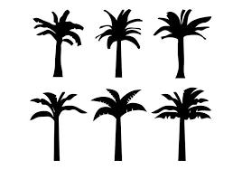 バナナの木イラスト 無料素材ダウンロード精巧なパターン イラストfree