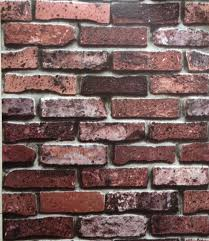 Small Picture Aliexpresscom Buy 3d stone design wall paper brick design pvc