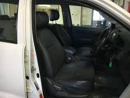 black duck seat covers dual cab complete front and rear toyota hilux workmate sr