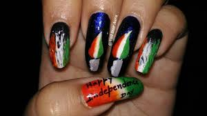 Happy 70th Independence Day| Independence Day Special Nail Art ...