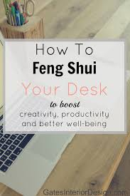 feng shui my office. Getting Started: How To Feng Shui Your Desk My Office I